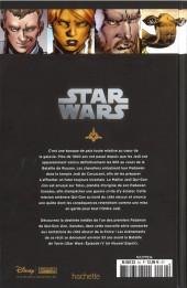 Verso de Star Wars - Légendes - La Collection (Hachette) -3422- L'Ordre Jedi - I. Le destin de Xanatos
