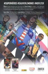 Verso de Young Avengers (Gillen & McKelvie) - Style > Substance