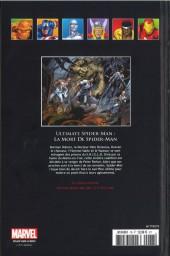 Verso de Marvel Comics - La collection (Hachette) -7875- Ultimate Spider-Man - La Mort de Spider-Man