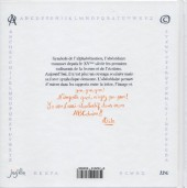 Verso de Bel ABC d'Atèle (le) - Le bel ABC d'Atèle