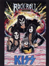 Verso de Rock 'N' Roll Comics Magazine (1990) -1- Kiss: Their Rise To Greatness-- And Beyond!!!