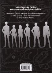 Verso de Psycho-Pass - Inspecteur Shinya Kôgami -3- Tome 3