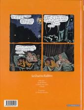 Verso de Le chat du Rabbin -3- L'exode