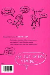 Verso de Les petits tracas de Théo & Léa -1- Je suis un peu timide