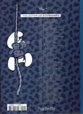 Verso de Les schtroumpfs - La collection (Hachette) -29- Le schtroumpf reporter