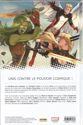 Verso de Les gardiens de la Galaxie / All-New X-Men (Marvel Now!) -2- Le Vortex Noir (II)