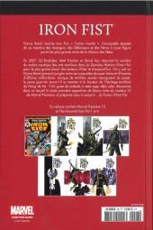 Verso de Marvel Comics : Le meilleur des Super-Héros - La collection (Hachette) -28- Iron Fist