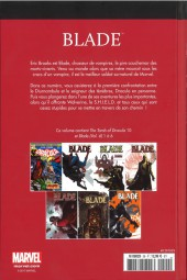 Verso de Marvel Comics : Le meilleur des Super-Héros - La collection (Hachette) -29- Blade
