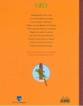 Verso de Tintin - Divers -74a- Les arts et les civilisations vu par le héros d'Hergé - FL