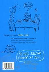 Verso de Les petits tracas de Théo & Léa -2- Je suis jaloux comme un pou !