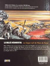 Verso de La vallée Néandertal -1- Main de pierre