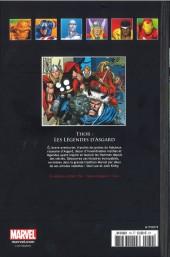 Verso de Marvel Comics - La collection (Hachette) -79I- Thor - Les Légendes D'Asgard