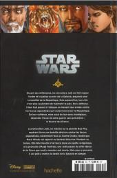 Verso de Star Wars - Légendes - La Collection (Hachette) -3533- Clone Wars - VIII. Obsession