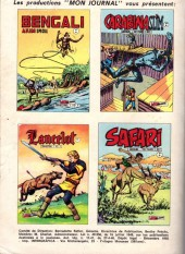 Verso de Capt'ain Swing! (1re série) -30- L'hyène de Sikawar