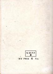 Verso de Capt'ain Swing! (1re série) -Rec040- Album N°40 (du n°150 au n°152)