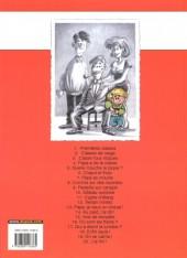 Verso de Cédric -1b2006- Premières classes
