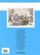 Verso de Cédric -2c06- Classes de neige