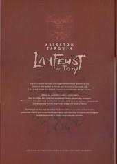 Verso de Lanfeust de Troy -7COF2- Les pétaures se cachent pour mourir