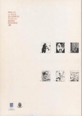 Verso de (Catalogue) Prix Töpffer de la ville de Genève -8- 2003