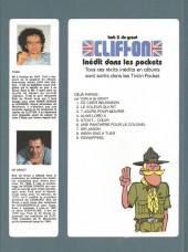 Verso de Clifton -HS1- Inédit dans les pockets