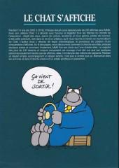 Verso de Le chat -Pub- Le chat s'affiche... ou 14 ans de bonheurs graphiques