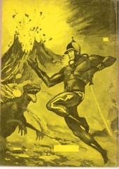Verso de Hero-man -4- Perdus dans Vénus