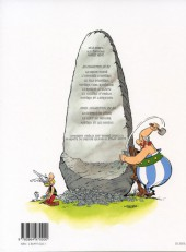 Verso de Astérix -28b2003- Astérix chez Rahãzade