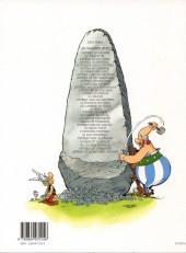 Verso de Astérix (Hors Série) -C02b- La surprise de César