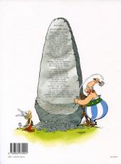 Verso de Astérix (Hors Série) -C03b- Le coup du menhir