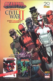 Verso de Civil War II Extra -1- Civil War II : Gods of War