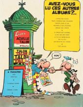 Verso de Achille Talon -1- Les idées d'Achille Talon cerveau-choc !