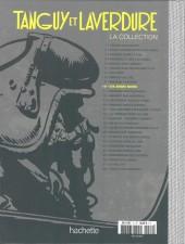Verso de Tanguy et Laverdure - La Collection (Hachette) -10- Les anges noirs