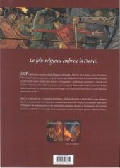 Verso de Les guerriers de Dieu -1- 1557, la chasse aux hérétiques
