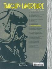 Verso de Tanguy et Laverdure - La Collection (Hachette) -11- Destination Pacifique