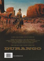 Verso de Durango -9e- L'or de duncan