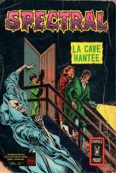 Verso de Spectral (2e série) -Rec01- La machine du destin / La cave hantée