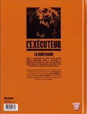 Verso de L'exécuteur -2- La Confession