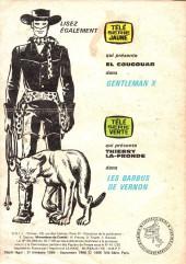 Verso de Télé série bleue (Les hommes volants, Destination Danger, etc.) -35- Djingla Jungle : L'idole aux trois yeux