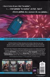 Verso de Doctor Who - Les nouvelles aventures du dixième docteur -3- Les fontaines de l'éternité