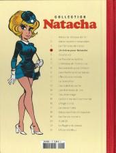 Verso de Natacha (la Collection Hachette) -4Test- Un trône pour natacha