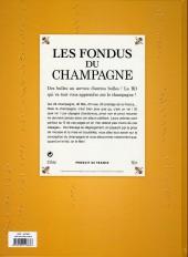 Verso de Les fondus du vin -7FL- Champagne