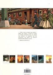 Verso de Le train des Orphelins -2b- Harvey