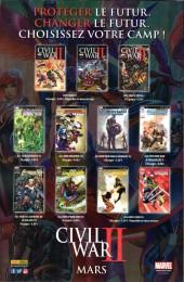 Verso de All-New Les Gardiens de la Galaxie -10- Civil War II