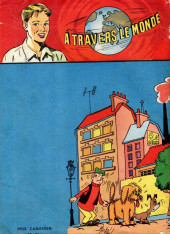 Verso de À travers le monde (3e série) -19- La valise diplomatique