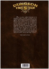 Verso de Dungeon Twister -2- Tome 2