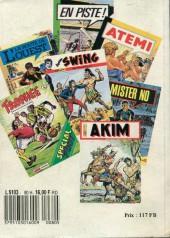 Verso de Capt'ain Swing! (1re série) -Rec080- Album N°80 (du n°270 au n°272)