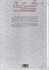 Verso de Ultime Étoile -INT- 42 agents intergalactiques
