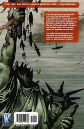 Verso de StormWatch: P.H.D. (2007) -INT3- World's End