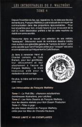 Verso de (AUT) Walthéry -39- Fax, Crobards & Co.