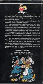 Verso de (AUT) Walthéry -29- Liège de Simenon